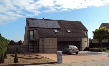 Oostakker - Sunrise - 3,64 kWp